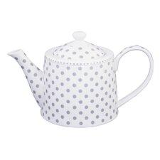 1 L Teekanne Dot aus Porzellan