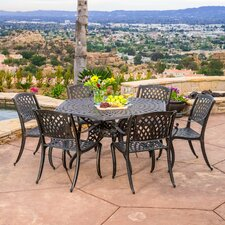 Belmont 7 Piece Dining Set by Darby Home Co®