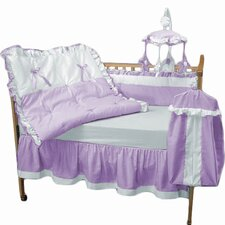 4 Piece Crib Bedding Set by Baby Doll Bedding