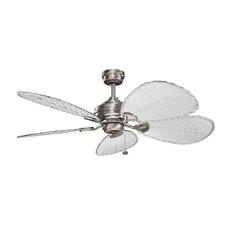 "22"" Wood Ceiling Fan Blade Set (Set of 5)"