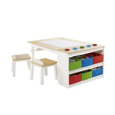 Intermediate Kids 10 Piece Arts & Crafts Table and Chair Set by Birch Lane Kids