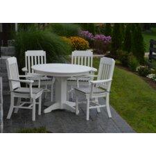 best 1 5 piece poly dining set patio tables wayfair com