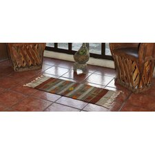 Zapotec Hand-Loomed Gold / Ochre Area Rug