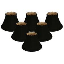 "6"" Silk Bell Candelabra Shade (Set of 6)"
