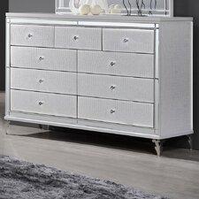 9 Drawer Dresser by Best Quality Furniture