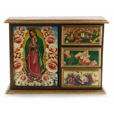 Beloved Guadalupe Decoupage Chest by Novica