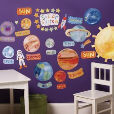 Solar System Interactive Wall Decal