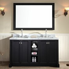 Westwood 61 Double Bathroom Vanity Set by Ariel Bath
