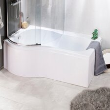 80cm x 150cm Sliding Bath Screen