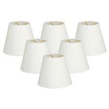 "5"" Linen Empire Candelabra Shade (Set of 6)"