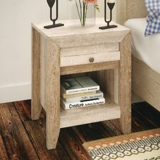 Signal Mountain 1 Drawer Nightstand by Loon Peak