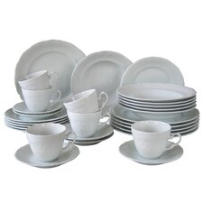 Frederike 30 Piece Dinnerware Set, Service for 6