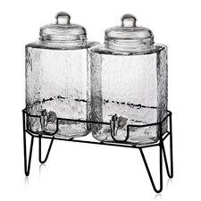 Peony 3 Piece Beverage Dispenser Set
