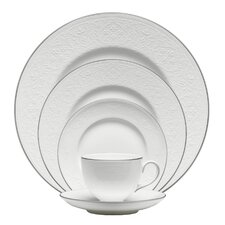 English Lace Bone China 5 Piece Place Setting, Service for 1