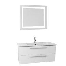 Dadila 38.2 Single Bathroom Vanity Set with Mirror by Nameeks Vanities