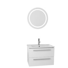 Dadila 25 Single Bathroom Vanity Set with Mirror by Nameeks Vanities