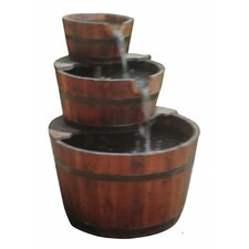 3 Tier Wood Water Fountain