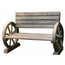 2-Sitzer Gartenbank aus Holz
