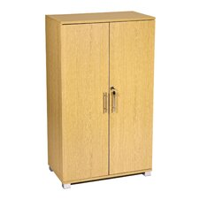Lockable 2 Door Storage Cabinet
