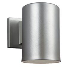 Bullets 1-Light Outdoor Sconce