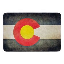 State Flag of Colorado by Bruce Stanfield Bath Mat