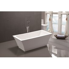 "66.5"" x 31.5"" Freestanding Soaking Bathtub"