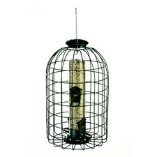 Squirrel Proof Caged Tube Bird Feeder