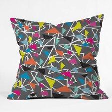 Triangle Maze Polyester Throw Pillow