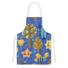 Lightning Bug by Jane Smith Artistic Apron