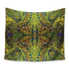 Yellow Jacket by Nikposium Wall Tapestry