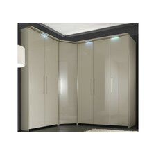 Comos Cornice Downlighting for 2 Door Wardrobes