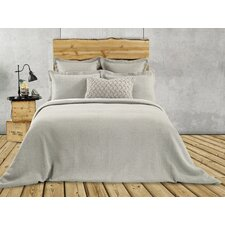 Rustic Cotton and Polyester  Euro Pillow