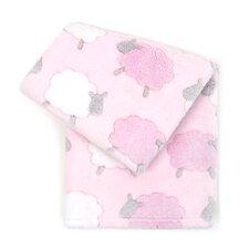 Lamb 3D Jacquard Plush Ultra-Soft Baby Blanket
