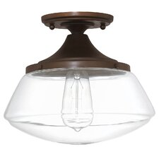 Arthur 1-Light Semi Flush Mount