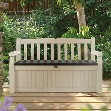 All Weather Resin Storage Bench