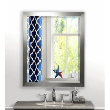 Rectangle Aluminum Beveled Wall Mirror