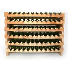 72 Bottle Floor Wine Rack
