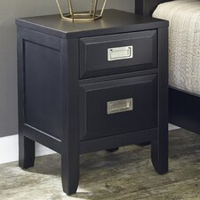 Prescott 2 Drawer Night Stand by Home Styles