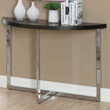 Half Moon Console Table by Monarch Specialties Inc.
