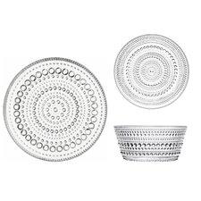 Kastehelmi 6 Piece Dinnerware Set, Service for 2