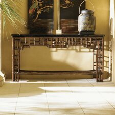 Royal Kahala Mystic Leather Console Table by Tommy Bahama Home
