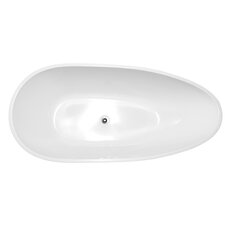 "67"" x 31.5"" Freestanding Soaking Bathtub"