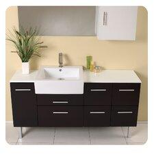Stella 55 Single Serio Modern Bathroom Vanity Set with Mirror by Fresca