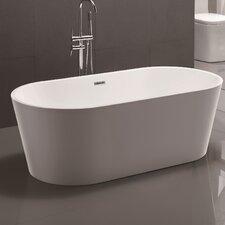 "59"" x 29.5"" Freestanding Soaking Bathtub"