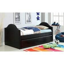 Rhine Twin Bed with Trundle by Hokku Designs