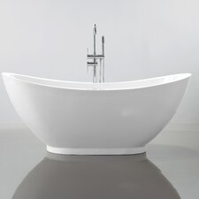 "69"" x 32"" Freestanding Soaking Bathtub"