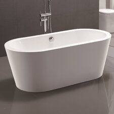 "67.7"" x 32.3"" Freestanding Soaking Bathtub"