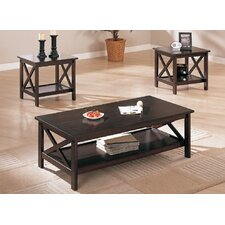 Ott 3 Piece Coffee Table Set by A&J Homes Studio
