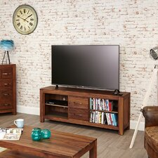 """Mayan Walnut TV Stand for TVs up to 72"""""""