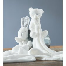 Baby Bear and Bunny Blanket Set (Set of 2)